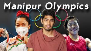 How does Manipur produce Olympians